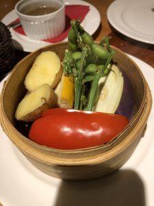夏の温野菜